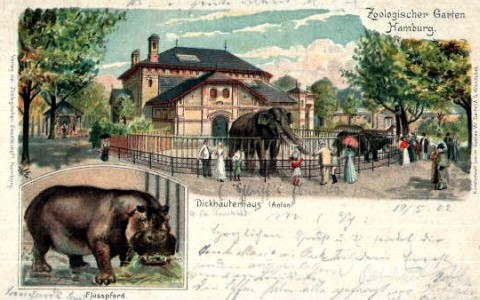 Hamburg Zoo Germany
